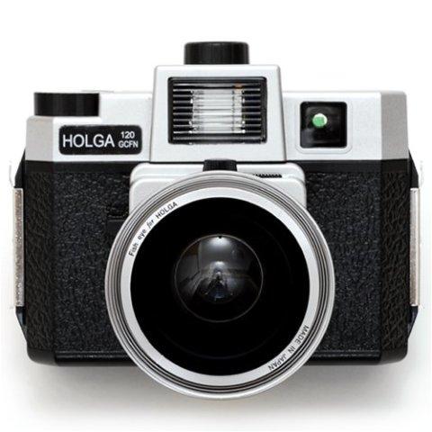 HOLGA120GCFNシルバーブラック+シルバー魚眼セット HOLGA120GCFNSBF