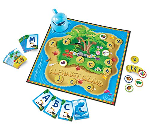 Learning Resources Alphabet Island A Letter & Sounds Game
