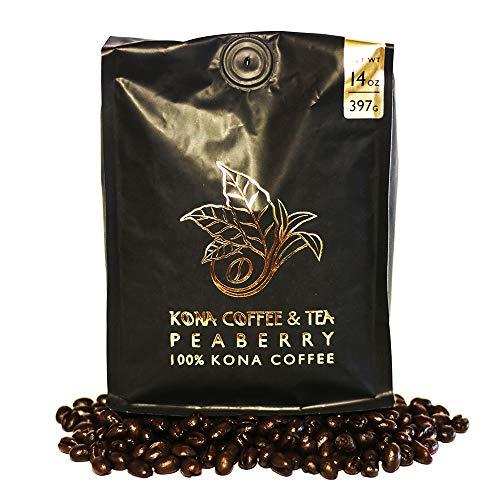 Peaberry (1-14oz Bag) - 100% Kona Coffee