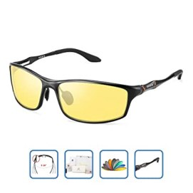 adc1a5de62 HD Men s Night Vision Glasses For Driving Polarized Anti-glare Night Sight Driving  Glasses (