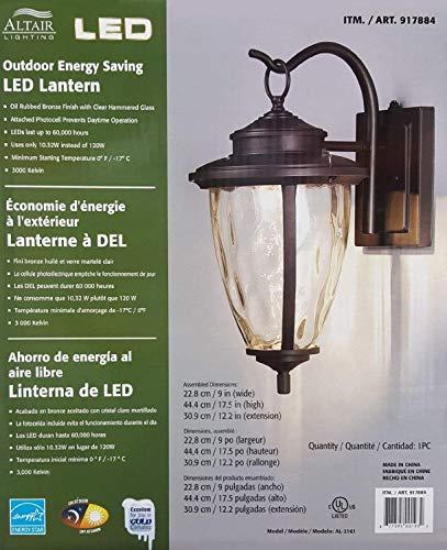Altair Lighting Outdoor Energy Saving