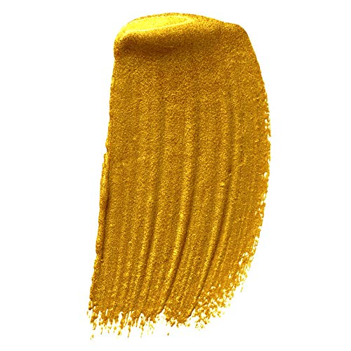 51%2BtKXdY TL - GRANOTONE Acrylic Venezia Metallic Colour 24 Carats Gold | 50 ml | Extra Sheen | Non Fading | Indoor/Outdoor | Non Toxic | Multi-Surface | Pro Artist, Hobby Painters & Kid | Made in India