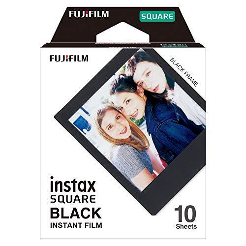 Fujifilm Instax Square Black Film – 10 Exposures
