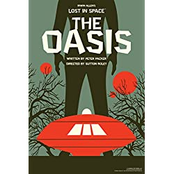 Lost In Space The Oasis by Juan Ortiz Art Print Poster 12x18