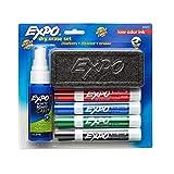 EXPO Dry Erase Marker Starter Set, Chisel Tip, Assorted Colors, 6 Piece