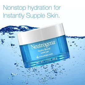Neutrogena Hydro Boost Hyaluronic Acid Hydrating Water Gel Daily Face Moisturizer for Dry Skin