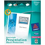 Avery Heavyweight Diamond Clear Sheet Protectors, 8.5' x 11', Acid-Free, Archival Safe, Easy Load, 200ct (74400)
