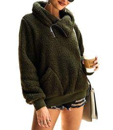 Women's Winter Lapel Sweatshirt