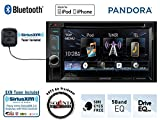 "Kenwood DDX372BT 6.2"" DVD Receiver with Built in Bluetooth and a SiriusXM Satellite Radio Tuner, antenna and a FREE SOTS Air Freshener"