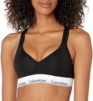 Calvin Klein Women's Modern Cotton Lightly Lined Bralette | TellGrade