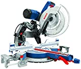 Bosch Power Tools GCM12SD - 15 Amp 12 in. Corded Dual-Bevel Sliding Glide Miter Saw with 60 Tooth Saw Blade