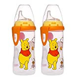 NUK Disney Winnie the Pooh Silicone Spout Active Cup, 10-Ounce (2 Pack)