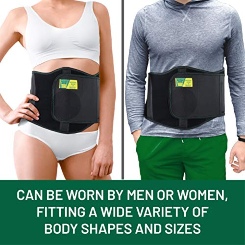 Ergonomic Umbilical Hernia Belt – Abdominal Binder for Hernia Support – Umbilical Navel Hernia Strap with Compression Pad – Ventral Hernia Support for Men and Women – Large/XXL Plus Size (42-57 in) deal 50% off 51 7Uffw8bL