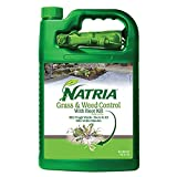 Natria 100532524 Grass & Weed Control with Root Kill Herbicide Weed Killer, Ready-to-Use, 1-Gallon