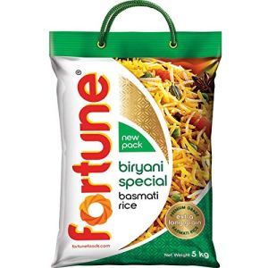 Fortune Special Biryani Basmati Rice 5kg | Buy at Amazon