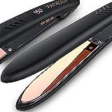Flat Iron for Hair Titanium Plates,...