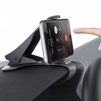 Tsumbay Supporto Smartphone per Auto Porta Cellulare da Auto Universale per Telefono da 3 a 6,5 Pollici Compatibile con iPhone Nokia, Wiko, Huawei, Xiaomi,HTC, Sony e Altri, Ultra Stabile