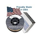 WeldingCity USA Made Gasless Flux Core E71T-GS 10-Lb Spool 0.035' Mild Steel MIG Welding Wire
