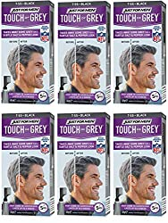 Just For Men Touch Of Gray Hair Color, Black Gray (6 Pack)  Image
