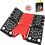 BoxLegend V2-Plus Shirt Folding Board t Shirts Clothes Folder Durable Plastic Laundry folders Folding Boards flipfold ¡