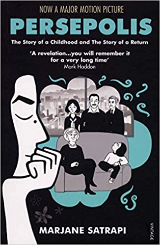 Image result for Persepolis, by Marjane Satrapi,