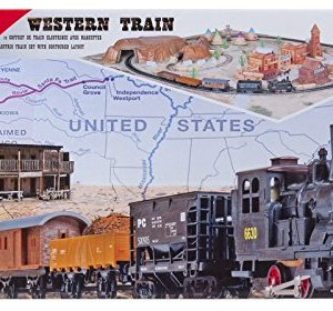 "Mehano ""Western Train with Layout –Made in Slovenia 51 LSloWGYL"