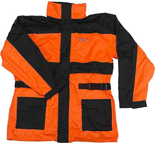 Vega Technical Gear Rain Jacket (Optic Orange, 4X-Large)