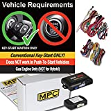 MPC Complete Factory Remote Activated Remote Start Kit for 2008-2013 Nissan Rogue - Includes Bypass - Firmware Preloaded