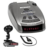 Beltronics RX65 Red Professional Series Radar/Laser Detector with RadarMount Suction Mount Bracket For Radar Detectors