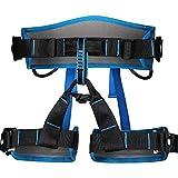 Kylinlkj Half Body Rock Climbing Harness Outdoor Safe Seat Belt Momentum Harness for Mountaineering,Rock Climbing,Fire Rescue (Color : Blue)