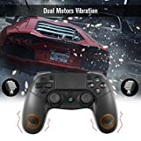 PS4 Controller, KINGEAR Wireless Controller for Playstation 4/PC with Dual Vibration Game Joystick