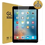 TopEsct Tempered Glass Screen Protector [2 Pack] for iPad Air,iPad Air 2,iPad Pro 9.7,iPad 5th Generation,iPad 6th Generation, Anti-Fingerprint, Anti-Scrat (iPad 9.7)