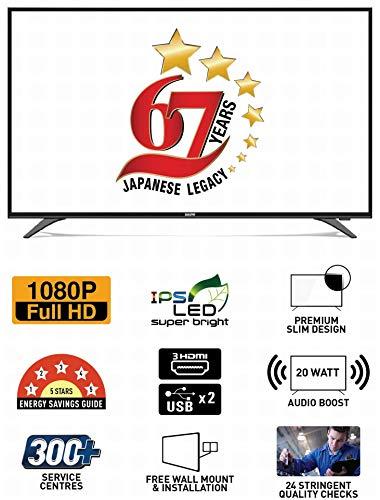 Sanyo 108 cm (43 Inches) Full HD IPS LED TV XT-43S7200F (Dark Grey) 7