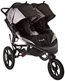 Baby Jogger 2016 Summit X3 Double Jogging Stroller - Black/Gray