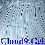 Product review for Cloud9 Gel Queen 2 Inch 100% Gel Infused Visco Elastic Memory Foam Mattress Topper