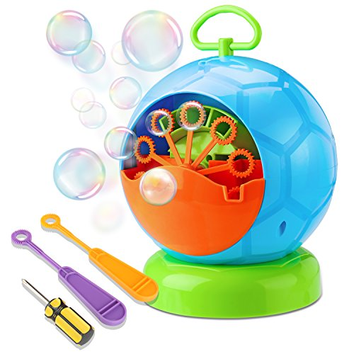 Bubble Machine, Fansteck Durable Portable Bubble Blower