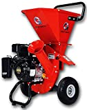 GreatCircleUSA 7HP Heavy Duty 212cc Gas Powered 3:1 capable Multi-Function Wood Chipper Shredder 3' max Wood Diameter Capacity, 3 Years Warranty, CARB Certified, Ship to California(IMPROVED PACKAGING)