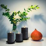 smtyle-Black-Flameless-Candles-Home-Decor-Set-of-3-Battery-Operated-with-Moving-Flame-Wick-Flickering-LED-Pillar-Candle-3-x-456inch