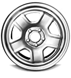 New 16 Inch Jeep Patriot Compass 5 Lug Silver Replacement Steel Wheel Rim 16x6.5 Inch 5 Lug 67.1mm Center Bore 40mm Offset WAA