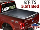 GatorTrax Retractable Tonneau Truck Bed Cover 2015-2018 Ford F150 5.5 FT. Bed Matte