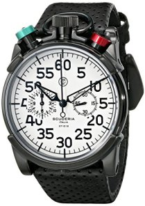 CT Scuderia Men's CS20101 Analog Display Swiss Quartz Black Watch