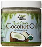 Primal Essence Coconut Oil, Infused Thai Curry, 0.5 Pound