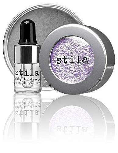 5101uecVlTL Magnificent Metals Foil Finish Eye Shadow With Mini Stay All Day Liquid Eye Primer: 1x Magnificent Metals Foil Finish Eye Shadow - Metallic Lavender 2g/0 07oz 1x Mini Stay All Day Liquid Eye Primer 2ml/0