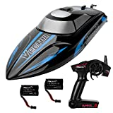 YIZI Remote Control Boat for Pools & Lakes – Udi001 Venom Fast RC Boat for Kids & Adults, Self Righting Remote Controlled Boat W/Extra Battery