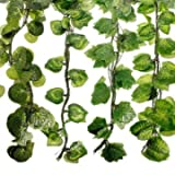 Foliage - Garden Landscaping & Decking - Pcs 7 5ft Artificial Ivy Leaf Garland Plants Garland Common Ivy Judy Garland Hedera Helix Foliage