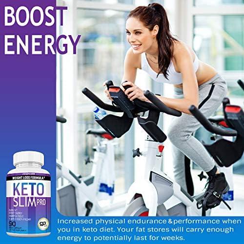 Advanced Keto Fast Diet Pills (BHB+ACV   90 Capsules)-VegePower Keto Slim Pro with Apple Cider Vinegar-Rapid Keto Burn Utilize Fat for Energy/Ketosis, Boost Focus, Manage Cravings for Women Men 6