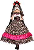 Forum Novelties Women's Day of Dead Spanish Lady Costume, Multi, Standard