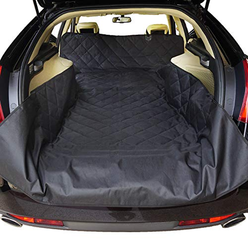 NOBER Pet Cargo Liner Cover for Dogs SUV Cars Waterproof Non Slip Universal Fit 55 X 106 with Bumper Flap Extra Large