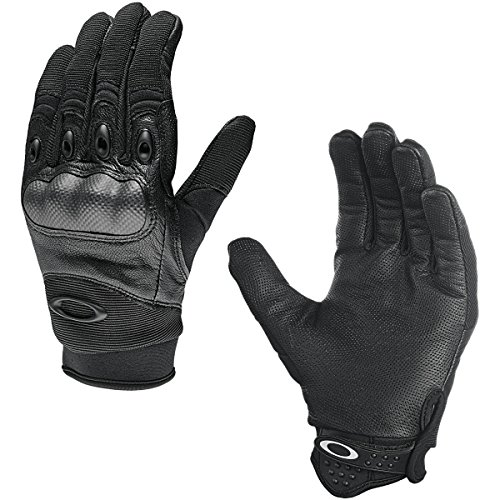 Oakley Mens Factory Pilot Glove, Black, Large