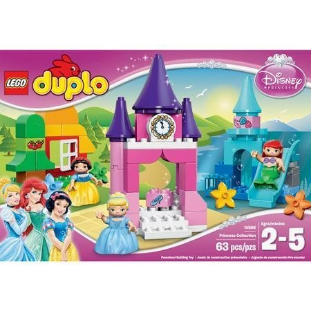 Easy To Assemble Brightly Colored DUPLO Disney Princess Collection, Multicolor